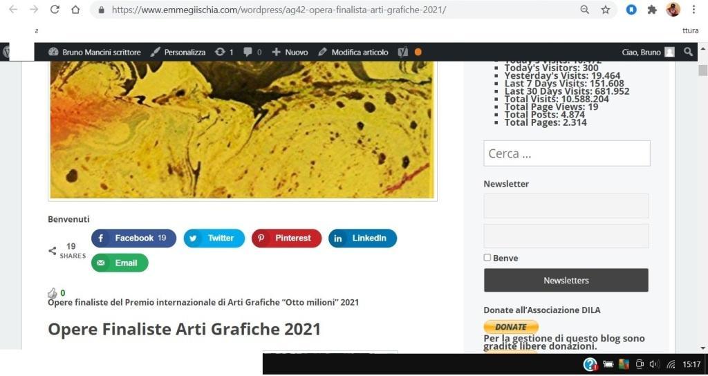 OTTO MILIONI 2021 arti grafiche ag42 Ingvar El Raven