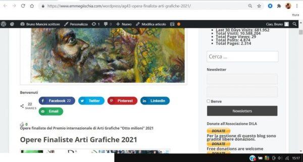 OTTO MILIONI 2021 arti grafiche ag43 Liga Sarah Lapinska