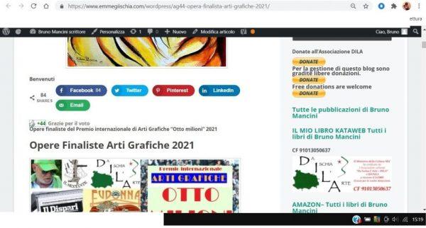 OTTO MILIONI 2021 arti grafiche ag44 Milena Petrarca