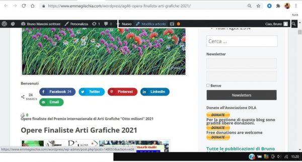 OTTO MILIONI 2021 arti grafiche ag46 Sebastiano Grasso