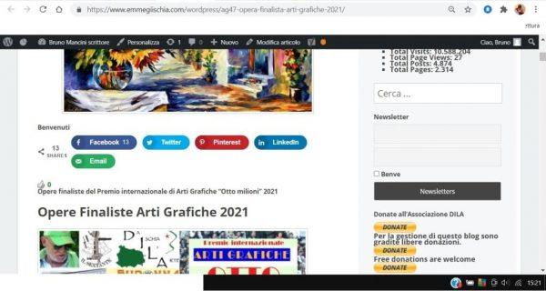 OTTO MILIONI 2021 arti grafiche ag47 Thamer M. Alhiti