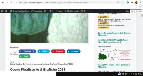 OTTO MILIONI 2021 arti grafiche ag5 Art Linh