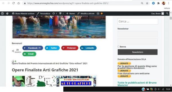 OTTO MILIONI 2021 arti grafiche ag51 Gianfranco Cilento