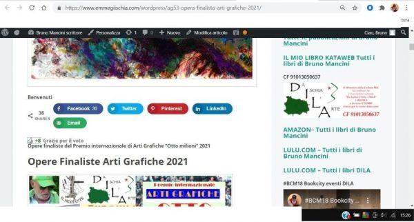 OTTO MILIONI 2021 arti grafiche ag53 Liga Sarah Lapinska