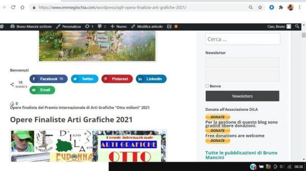 OTTO MILIONI 2021 arti grafiche ag9 Dita Dīķe