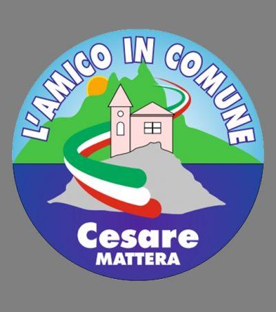 L'AMICO IN COMUNE candidato sindaco CESARE MATTERA