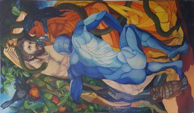 Alessandro Montesi mostra personale EVOLUZIONE Sala da Feltre Open Art