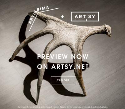 ARTISSIMA 2016 con la Galleria Sara Zanin