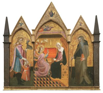 Annunciazione fra i Santi Eustachio e Antonio Abate di Giovanni dal Ponte