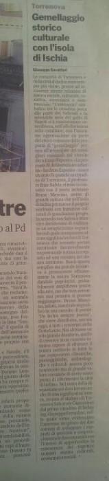 Articolo Gazzetta del Sud 2014 05 04