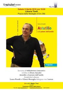 libro di Dario Amadei Astutillo e il potere dell'anello