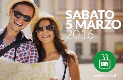 B&B DAY 2016 Sabato 5 marzo si dorme gratis in migliaia di B&B italiani