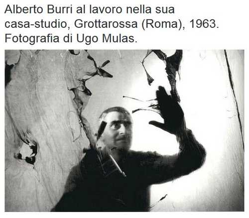 Alberto Burri al Guggenheim di New York