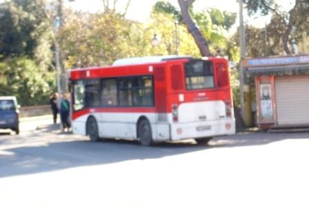 Bus in avaria