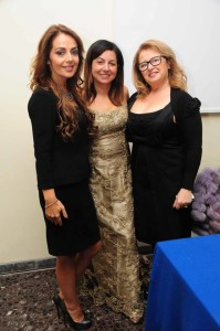 da sinistra Camilla Nata, Lisa Bernardini e Roberta Damiata