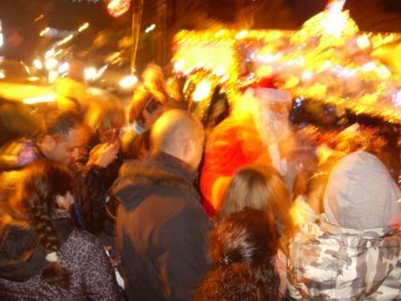 Carro di Tespi - Slitta natalizia - Piazza Eroi comp (7)