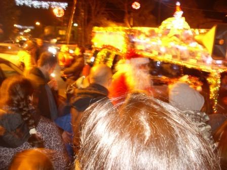 Carro di Tespi - Slitta natalizia - Piazza Eroi comp (9)