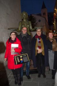 Catia Monacelli, Vittorio Sgarbi, Alba Gonzales