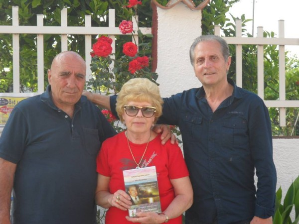 Cerimonia intestazione strade Torrenova 11 Poetessa Nicolina Spina prop BB Villa dei principi