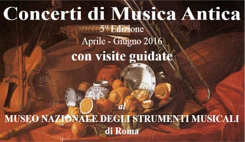 Concerti di musica antica al Museo Nazionale degli Strumenti Musicali