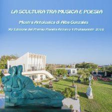 Premio Pianeta Azzurro copertina catalogo Antologica di Alba Gonzales