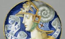 Coppa con Bradamante mostra I VOLI DELL'ARIOSTO. L'ORLANDO FURIOSO E LE ARTI