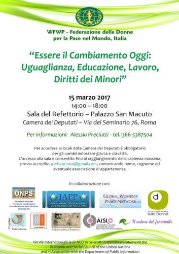 D.15 marzo 2017 Locandina