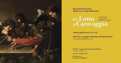 Da Lotto a Caravaggio. La collezione e le ricerche di Roberto Longhi