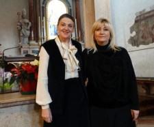 Da sinistra Santina Amici e Paola Occhi