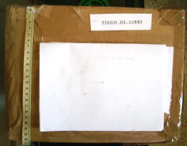 Dimensioni pacco 23 cm