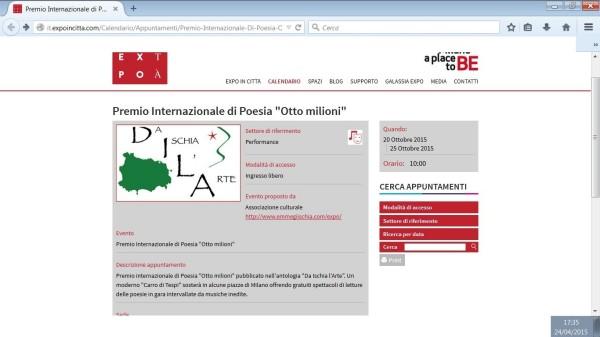 EXPO pagina web otto milioni