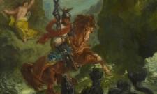 E. Delacroix Ruggero libera Angelica mostra I VOLI DELL'ARIOSTO. L'ORLANDO FUIRIOSO E LE ARTI