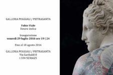 La Venere Italica di Fabio Viale a Pietrasanta