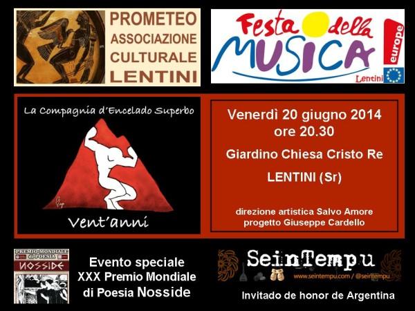 Festa Europea della Musica a Lentini,