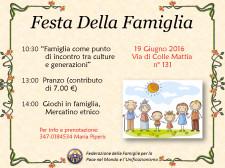 Festa della Famiglia e la WFWP