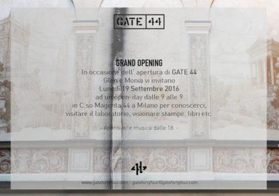 Gate 44 stamperia artistica nel cuore di Milano