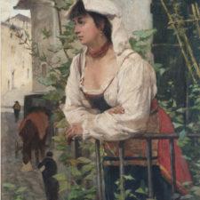 G. -Fattori -Ciociara-ritratto di Amalia Nollemberg