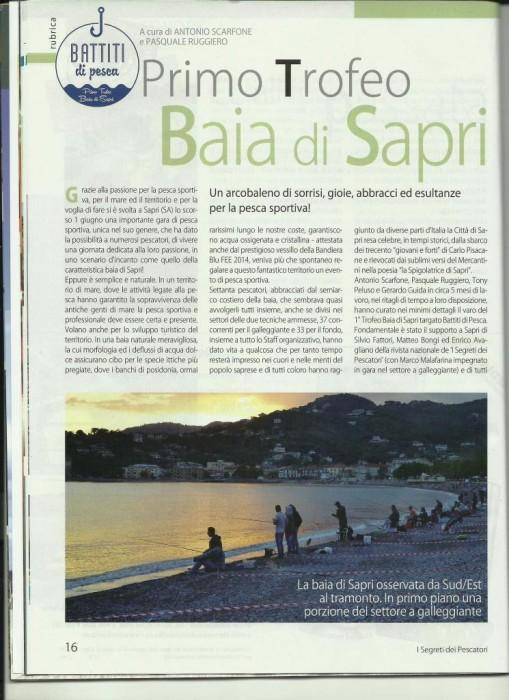 I segreti dei pescatori giugno 2014 articolo pag 1 comp (1)