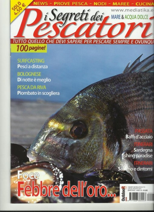 I segreti dei pescatori giugno 2014 copertina comp