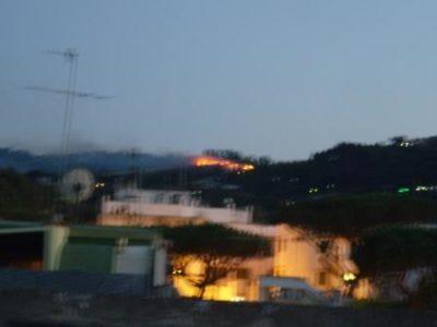 Enorme incendio in località Fiaiano - Ischia