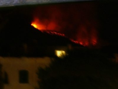 Incendio Montevezzi Ischia