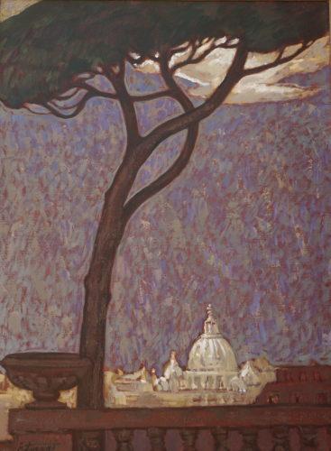 Archinatura:  i dipinti di Zoraqi e la città eterna