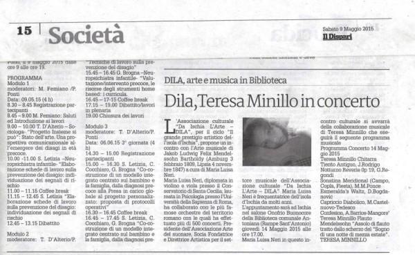 Il dispari articolo Maria Luisa - Comp