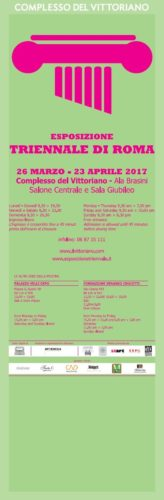 Triennale di Arti Visive a Roma 2017