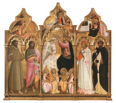 Incoronazione della Vergine Giovanni dal Ponte