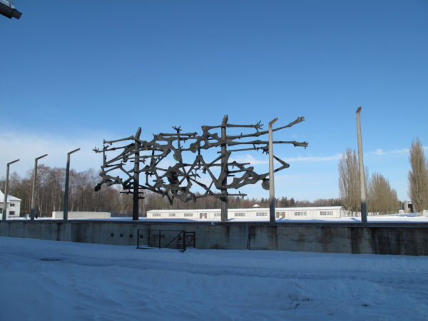 Katia Massaro di nuovo a Dachau il 30-01-010