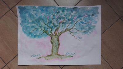 Eugenia Serafini L'albero azzurro