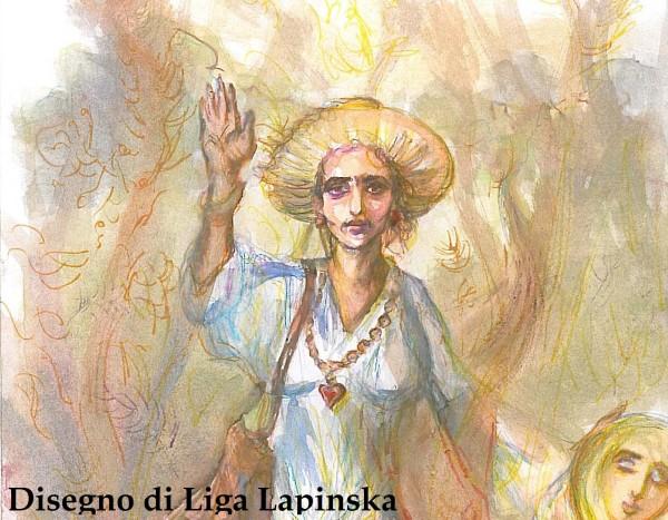 Liga Sarah Lapinska PREMIO IL DISPARI tema PACE