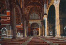 LETTERATURE FESTIVAL ROMA interno basilica di Massenzio