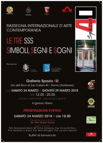 Le tre S S S: Simboli, Segni e Sogni - Exibart.service
